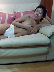 Collection of a sexy Singaporean babe posing for her BF